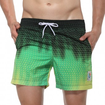 Beach Shorts - Green [3144D]