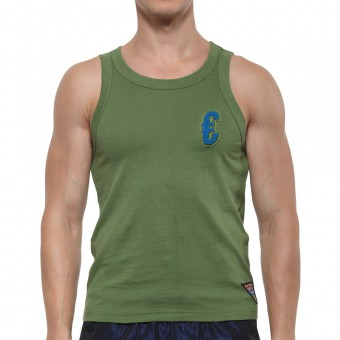 Casual Tank - Army Green  [3140]