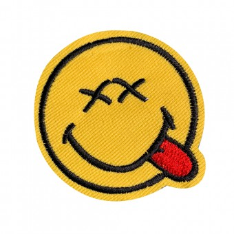 Badge Smiley - Free Sewing Service [4149]