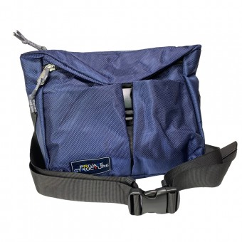 Buckle Sling Bag -Dark Blue [4037]