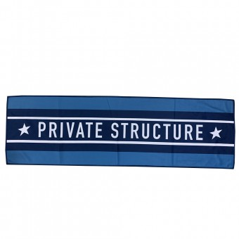Private Structure Gym Towel - PRD Blue [4234]