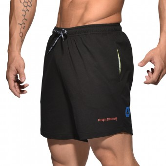 BeFit Sweat Jersey Shorts-Black [3435]