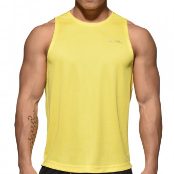 BeFIT Sweat Casual Fit Singlet - Bright Yellow [3482]