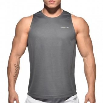 BeFit Sweat Casual Fit Singlet-Dark Grey [3482]