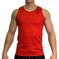 beFIT Sweat Body Fit Active Singlet Red [3953]