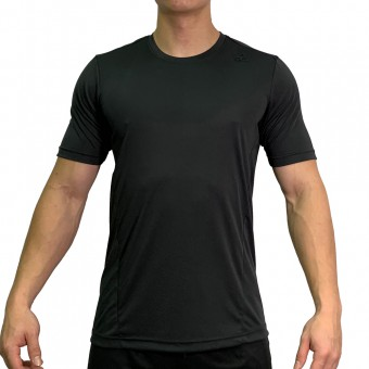 beFIT Sweat Casual Fit Crew Neck Tee Black [3954]