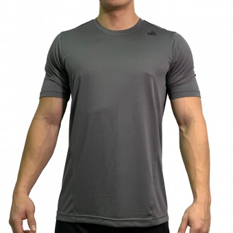 beFIT Sweat Casual Fit Crew Neck Tee Dark Grey [3954]