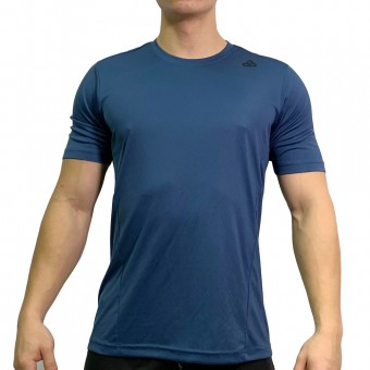 beFIT Sweat Casual Fit Crew Neck Tee Navy [3954]