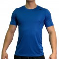 beFIT Sweat Casual Fit Crew Neck Tee Blue [3954]