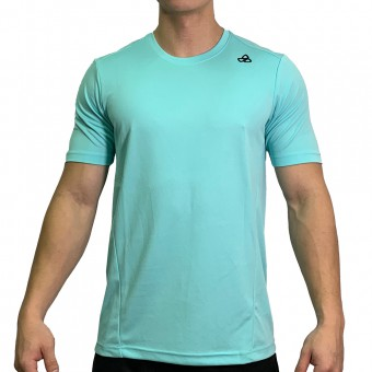 beFIT Sweat Casual Fit Crew Neck Tee Turquoise [3954]