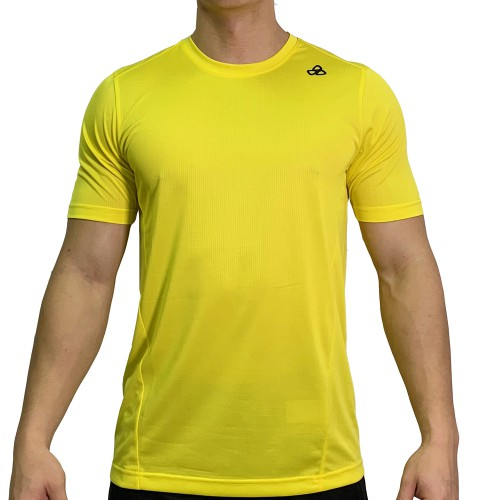 beFIT Sweat Casual Fit Crew Neck Tee Yellow [3954]