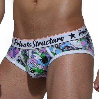 Classic Mini Brief - Street Lilac [4189]