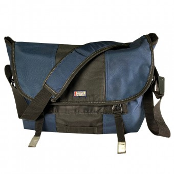Messenger Bag-Navy [3563]