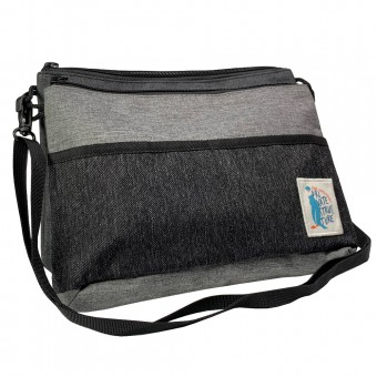 Dou Sling Bag -Grey/Black [4008]